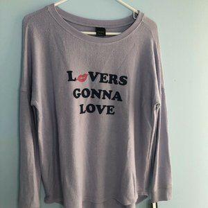 Free Press Sleepshirt Lavender Lovers Gonna Love